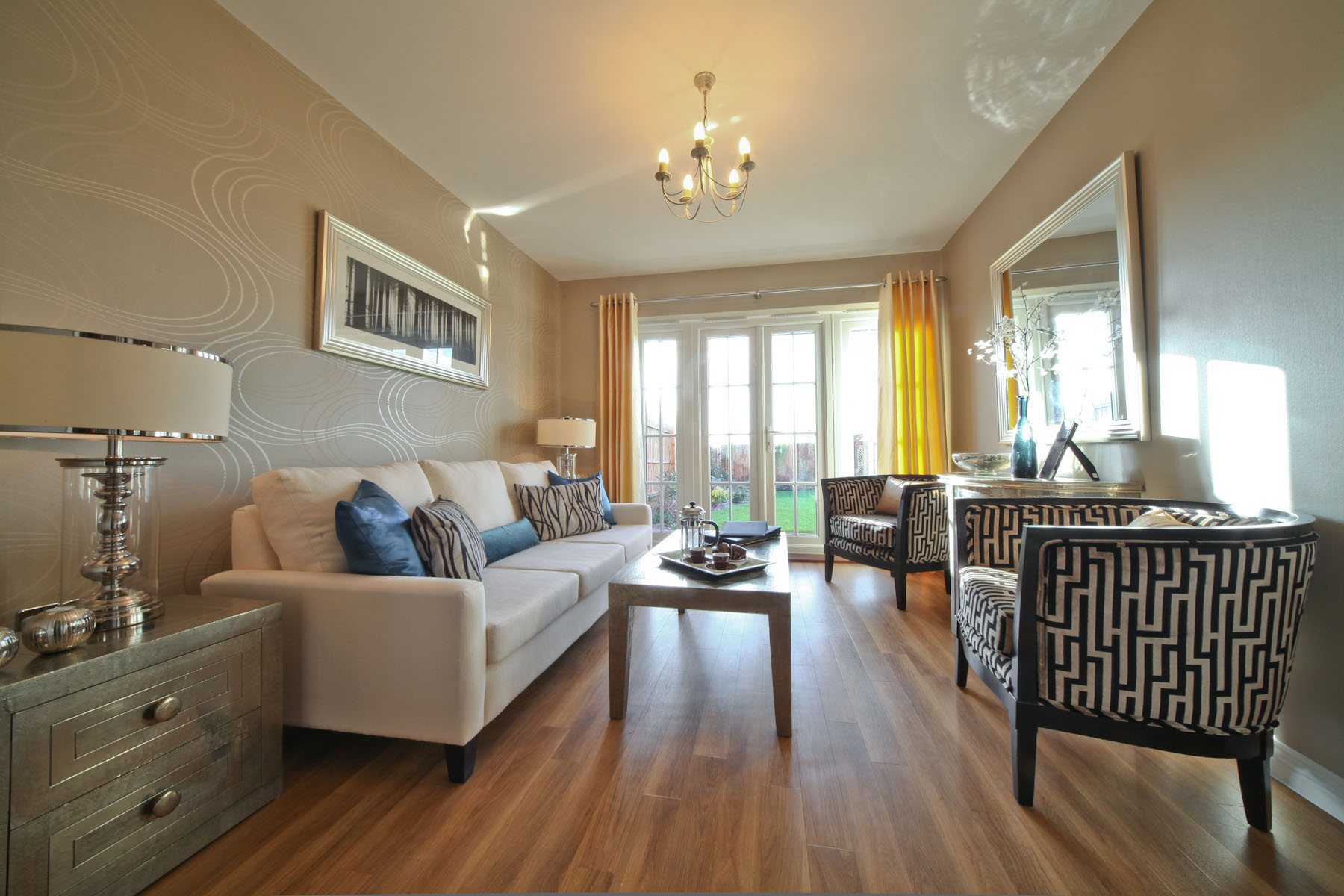 Taylor Wimpey typical garden room